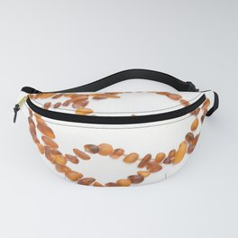 beads with amber Fanny Pack