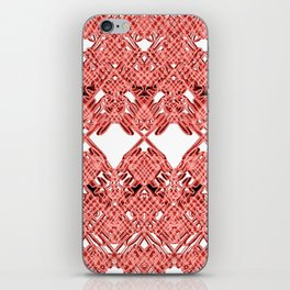 Red Lace Royshay  iPhone Skin