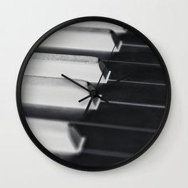 Abstract Piano Wall Clock