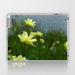 Lotus & Swallows Laptop & iPad Skin