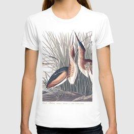 Least bittern, Birds of America, Audubon Plate 210 T-shirt