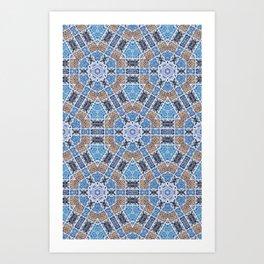 Portugues Tiles Art Print