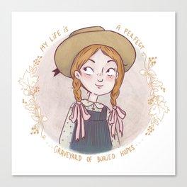 Anne of Green Gables Canvas Print