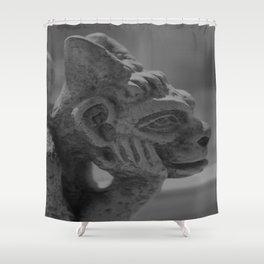 Gargoyle Shower Curtain