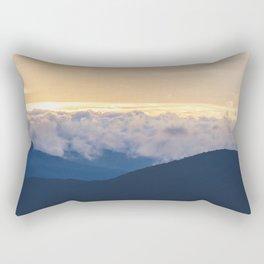 Sunrise in North Georgia Mountains 2 Rectangular Pillow