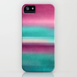 TIME AND SILENCE II iPhone Case