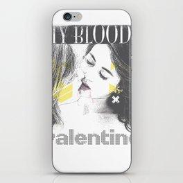 My bloody Valentine iPhone Skin