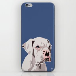 WhiteDog iPhone Skin