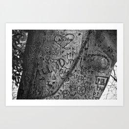 Testimonies Art Print