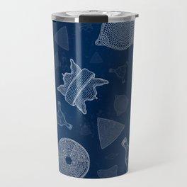 Diatoms - microscopic sea life Travel Mug