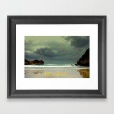 Life's a Beach! Framed Art Print
