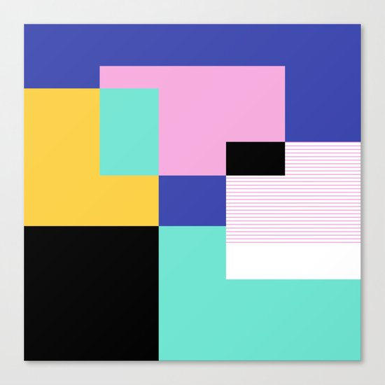 Tile Harmony Canvas Print