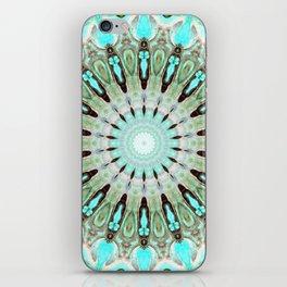 Tropical Floral Mandala iPhone Skin