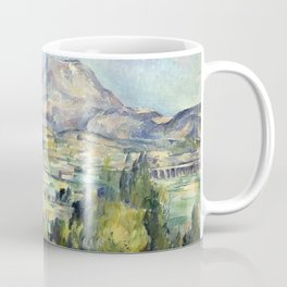 1890 - Paul Cezanne - Montagne Saint-Victoire Coffee Mug