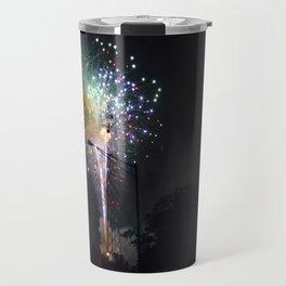 Fireworks II Travel Mug