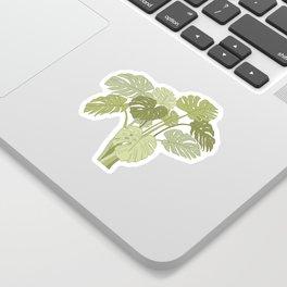 My Monstera Greens Sticker