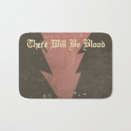 There will be blood, alternative movie poster, Daniel Day Lewis, Paul Thomas Anderson, Paul Dano Bath Mat