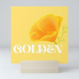 Golden Mini Art Print