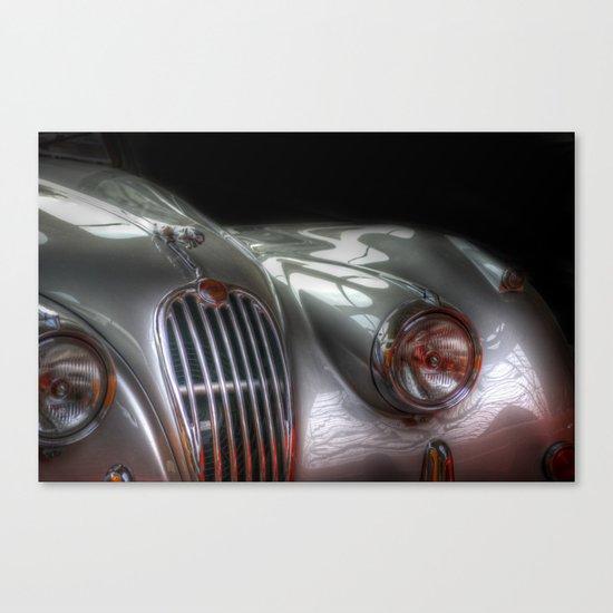 Silver Jag Canvas Print