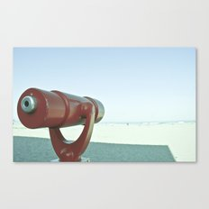 BEACHY SPYGLASS Canvas Print