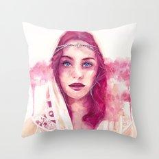 Beginning of a summer dream Throw Pillow