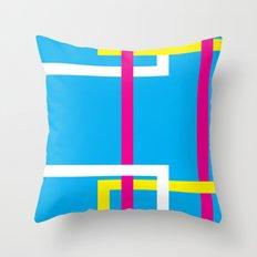 WRONG_(SWISS)POSTER VII, 2016 Throw Pillow