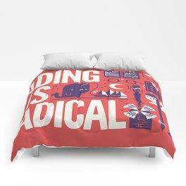 Reading is ... Comforters