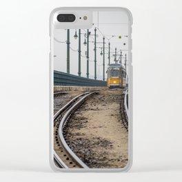 Commute. Clear iPhone Case