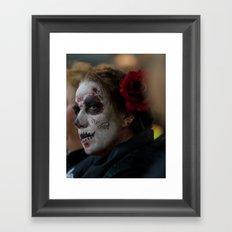 Día de los Muertos Framed Art Print