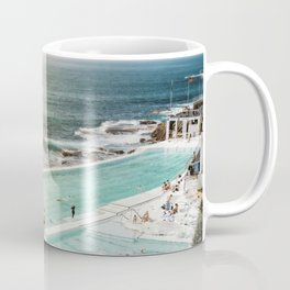 Bondi Icebergs Club | Bondi Beach Sydney Australia Ocean Coastal Travel Photography Coffee Mug