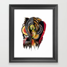 Mirela Framed Art Print