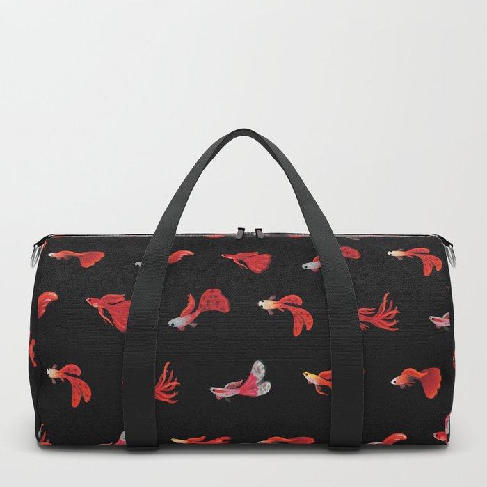 Red guppy Duffle Bag