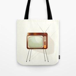 Vintage Television Tote Bag