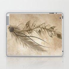 Bohemian Feather Laptop & iPad Skin
