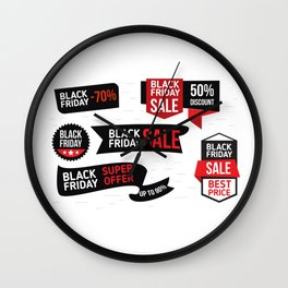 Black Friday Discount Wall Clock