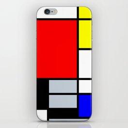 Mondrian iPhone Skin