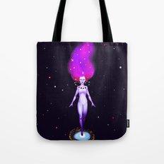 Universe God Tote Bag