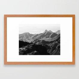 Chisos Mountains Framed Art Print