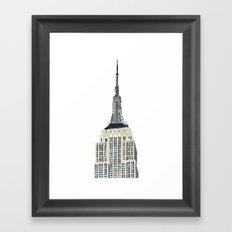 Empire Framed Art Print