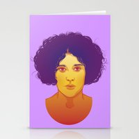 lana Stationery Cards featuring Lana by Esther Cerga
