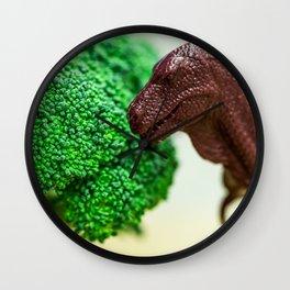 T-Rex & Broccoli Wall Clock