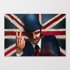 The bollocks Canvas Print