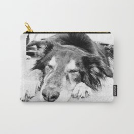 Tired Old Dog Carry-All Pouch