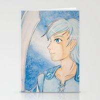 knight Stationery Cards featuring Knight by Raichana