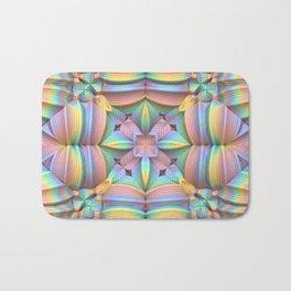 Symmetry in Pastels Bath Mat