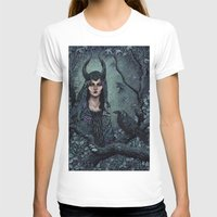 maleficent T-shirts featuring Maleficent by Angela Rizza