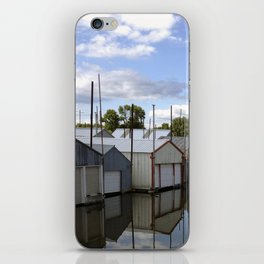 Minnesota Boat House Village iPhone Skin