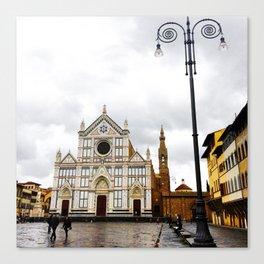 Basilica Santa Croce Canvas Print