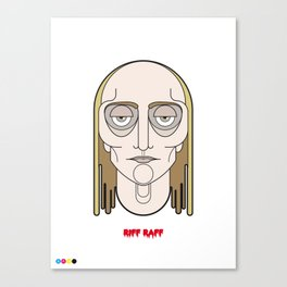 Riff Raff - The Rocky Horror Picture Show Canvas Print