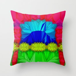 The theatre of unspoiled nature ... Throw Pillow